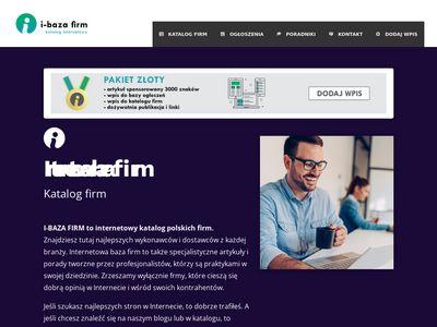 I-bazafirm.pl - katalog przedsiębiorstw