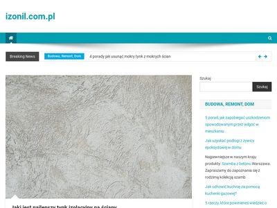 Izonil.com.pl - hydroizolacja