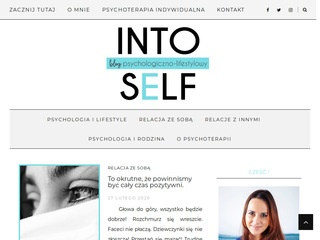 Intoself.pl - blog psychoterapeuty