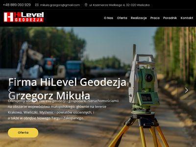 Hilevelgeodezja.pl mapa do celów projektowych