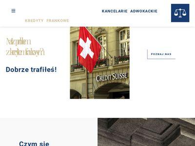 Kredytyfrankowe24.pl adwokaci
