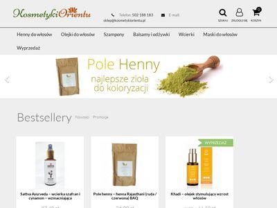 Kosmetykiorientu.pl - miód z gorczycy
