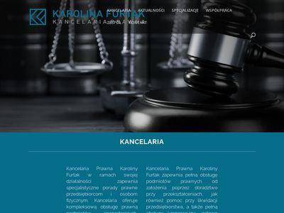 Karolinafurtak.pl kancelaria prawna