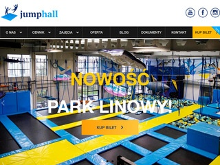 Jump Hall park trampolin
