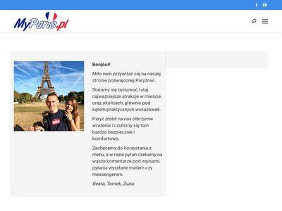 Myparis.pl Paryż