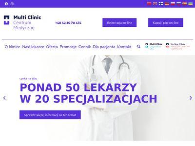Multiclinic.pl - centrum medyczne Łódź