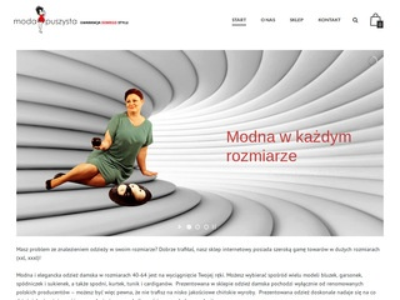 Modapuszysta.com.pl spódnice dla puszystych