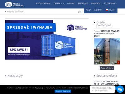 Mobilnekontenery.pl sprzedaż, wynajem