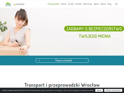 Metrans przeprowadzki Wrocław