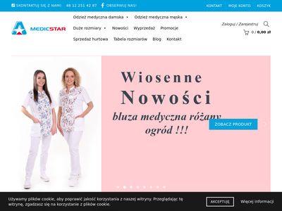 Medicstar.pl - odzież lekarska