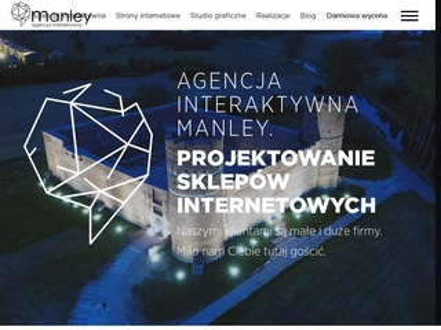 Manley.pl strony internetowe Warszawa