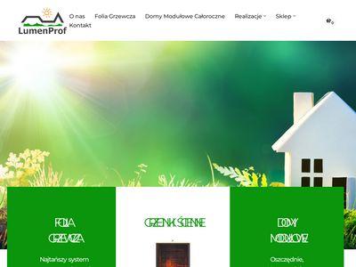 Lumenprof.pl - ogrzewanie elektryczne
