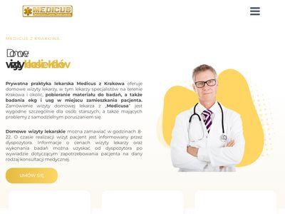 Medicus - wizyty domowe lekarzy