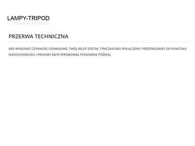 Lampy-tripod.pl podłogowe