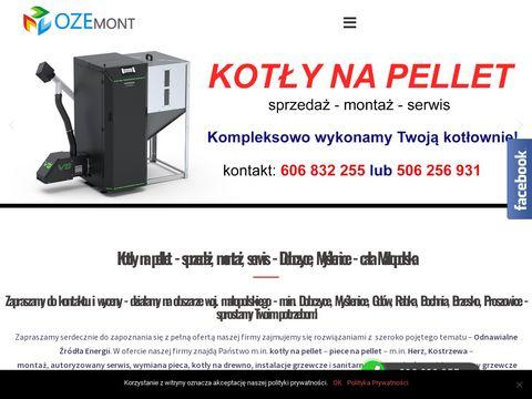 Ozemont.pl serwis piece na pellet