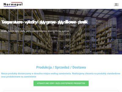 Normapol.pl - płyty poliamidowe pa6