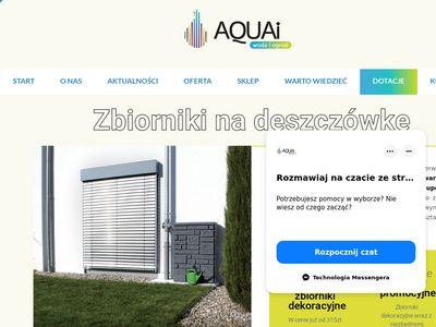 Aquai.pl - zbiorniki na deszczówkę