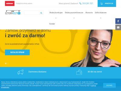 Czteryoczy.pl sklep z okularami
