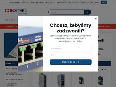 Consteel Trading elektronika przemysłowa