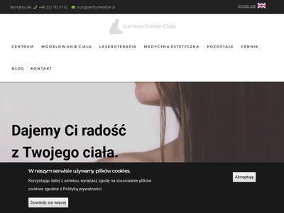 Centrumestetyki.pl leczenie laserowe żylaków