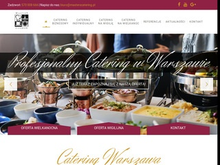 Masters Catering - catering Warszawa