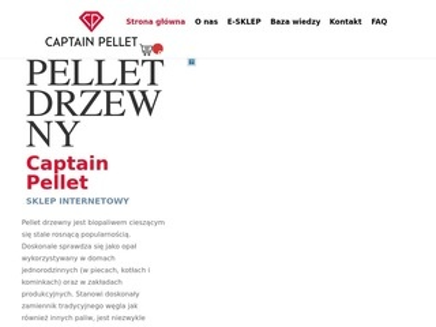 Captainpellet.pl - pellet dębowy sklep