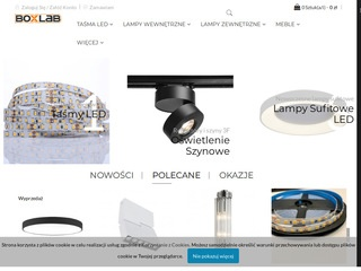 Boxlab.pl - lampy sufitowe led