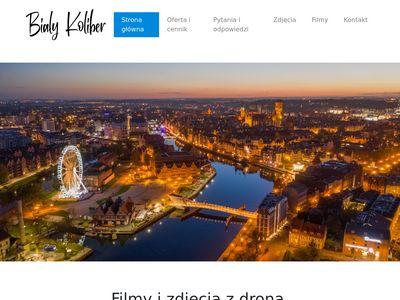 Bialykoliber.pl zdjęcia z drona