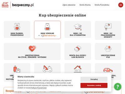 Bezpieczny.pl ubezpiecznia na życie, nnw