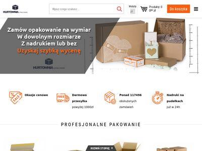 E-hurtownia-opakowan.pl pudełka, opakowania