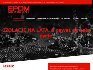 EPDM Membrany - dachy zielone