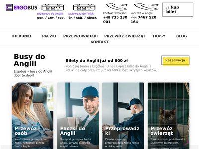 ErgoBus.eu - bus Polska Anglia
