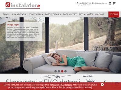 Einstalator.pl - pompy ciepła Leszno