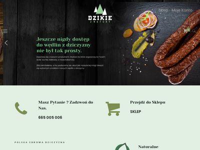 Dzikieznatury.pl - wyroby z dzika
