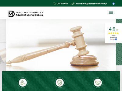 Dobies-adwokat.pl kancelaria adwokacka