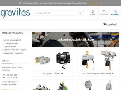 Gravitas.pl elektrowciągi łańcuchowe