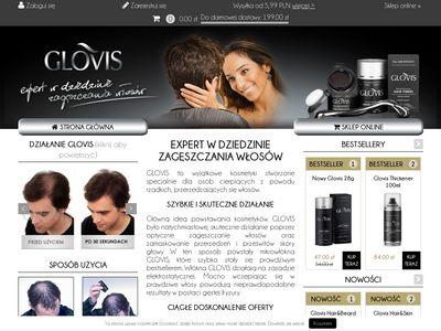 Glovis.pl - mikrowłókna w sprayu