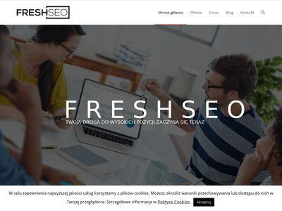 Freshseo.pl pozycjonowanie sklepów