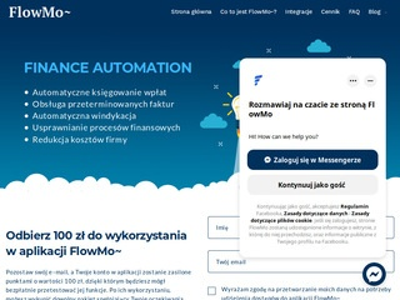 Flowmo.app obsługa faktur