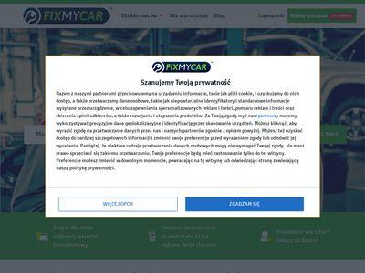 Fixmycar.pl wyszukiwarka mechaników