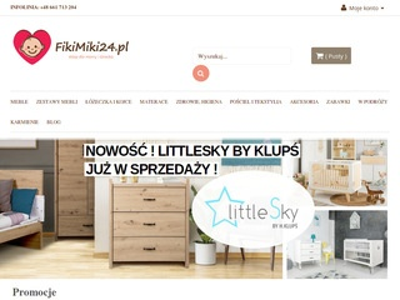 FikiMiki24.pl - meble dla niemowląt
