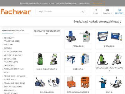 Fachwar.pl piaskarki kabinowe - sklep