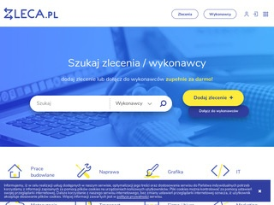 Zleca.pl - zlecenia, fachowcy, usługi