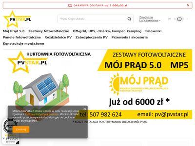 Pvstar.pl hurtownia fotowoltaiczna