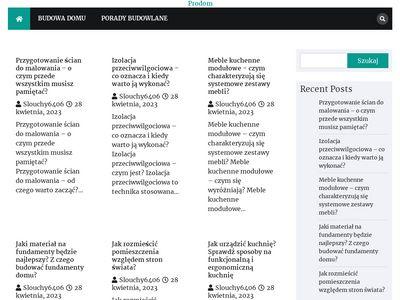 Prodom.net.pl domki drewniane producent