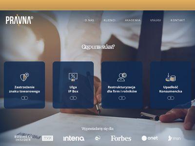 Pravna.pl - obsługa prawna