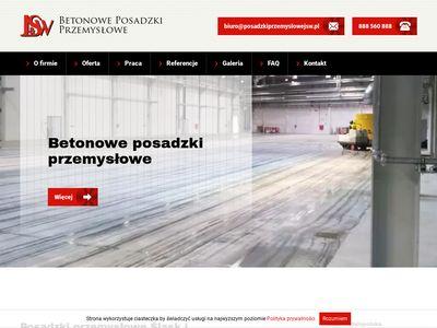 Posadzkiprzemyslowejsw.pl betonowe Śląsk