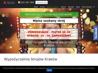 Strojeprzebrania-krakow.pl wypożyczalnia