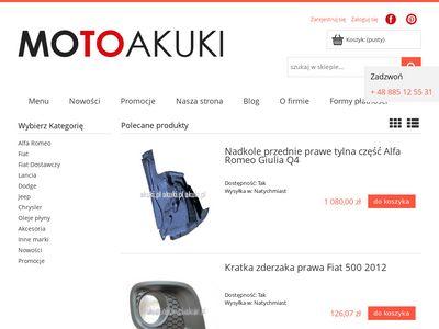 Sklep.akuki.pl części do włoskich aut
