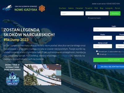 Ski-jumps.pl - gra sportowa online